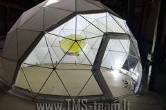 Geodesic dome - kupolas  Ø 6m